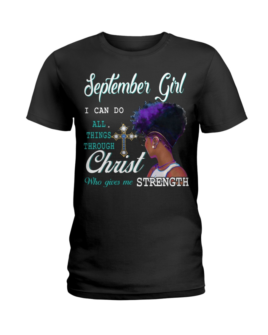 September Girl Ladies T-Shirt