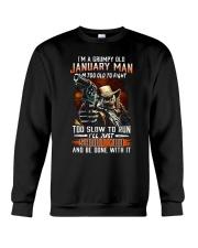 Grumpy old man-T1 Crewneck Sweatshirt thumbnail