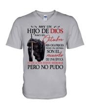 CHICO DE OCTUBRE V-Neck T-Shirt tile