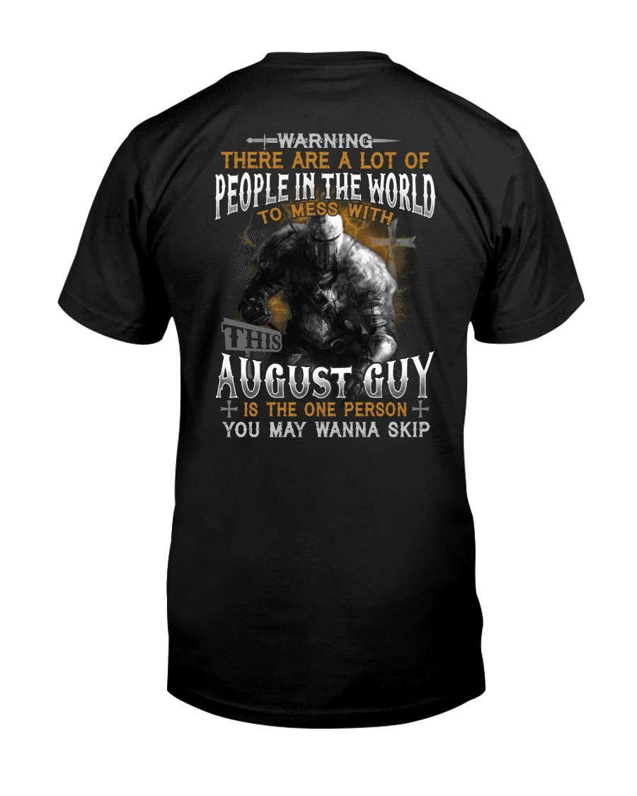 AUGUST GUY Classic T-Shirt