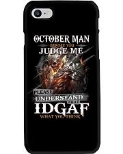 H- OCTOBER MAN Phone Case tile