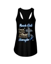H - March Girl Ladies Flowy Tank thumbnail