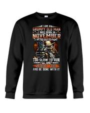 H- NOVEMBER MAN Crewneck Sweatshirt thumbnail