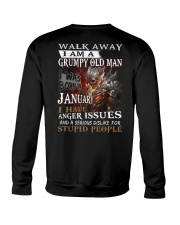 H - GRUMPY OLD MAN M1 Crewneck Sweatshirt thumbnail