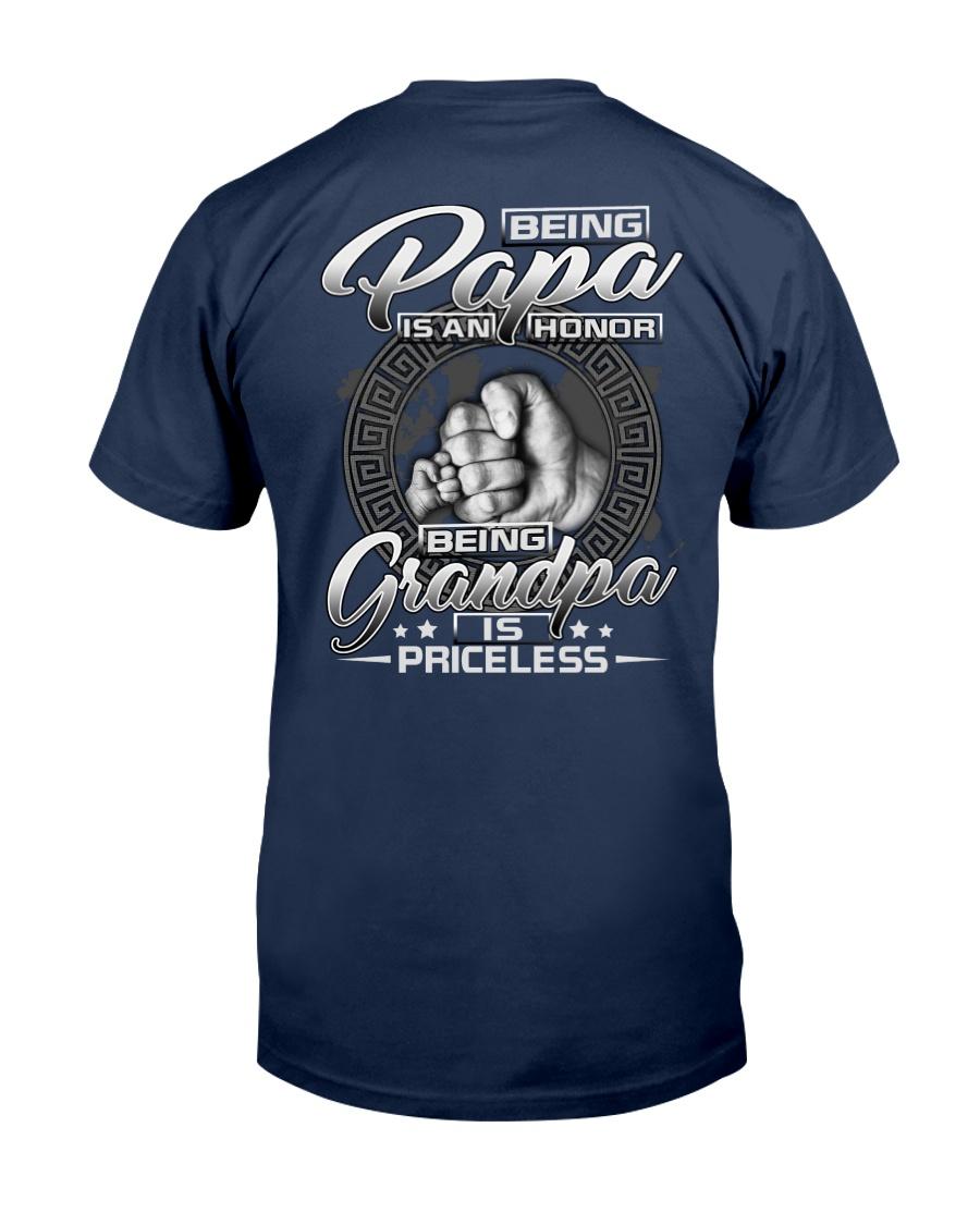 H - Best printing graphic tee shirt design grandpa Classic T-Shirt