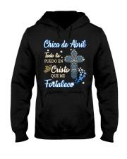 H - CHICA DE ABRIL Hooded Sweatshirt thumbnail
