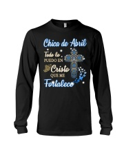 H - CHICA DE ABRIL Long Sleeve Tee thumbnail