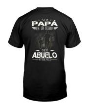 PAPA - ABUELO Classic T-Shirt back