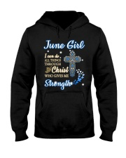H - June Girl Hooded Sweatshirt thumbnail