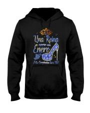 Camisetas sublimadas mujer para reinas de enero Hooded Sweatshirt thumbnail