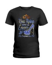 Camisetas sublimadas mujer para reinas de enero Ladies T-Shirt front