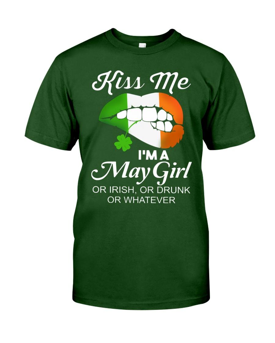 KISS ME I'M MAY GIRL Classic T-Shirt