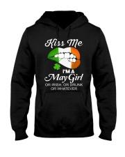 KISS ME I'M MAY GIRL Hooded Sweatshirt thumbnail