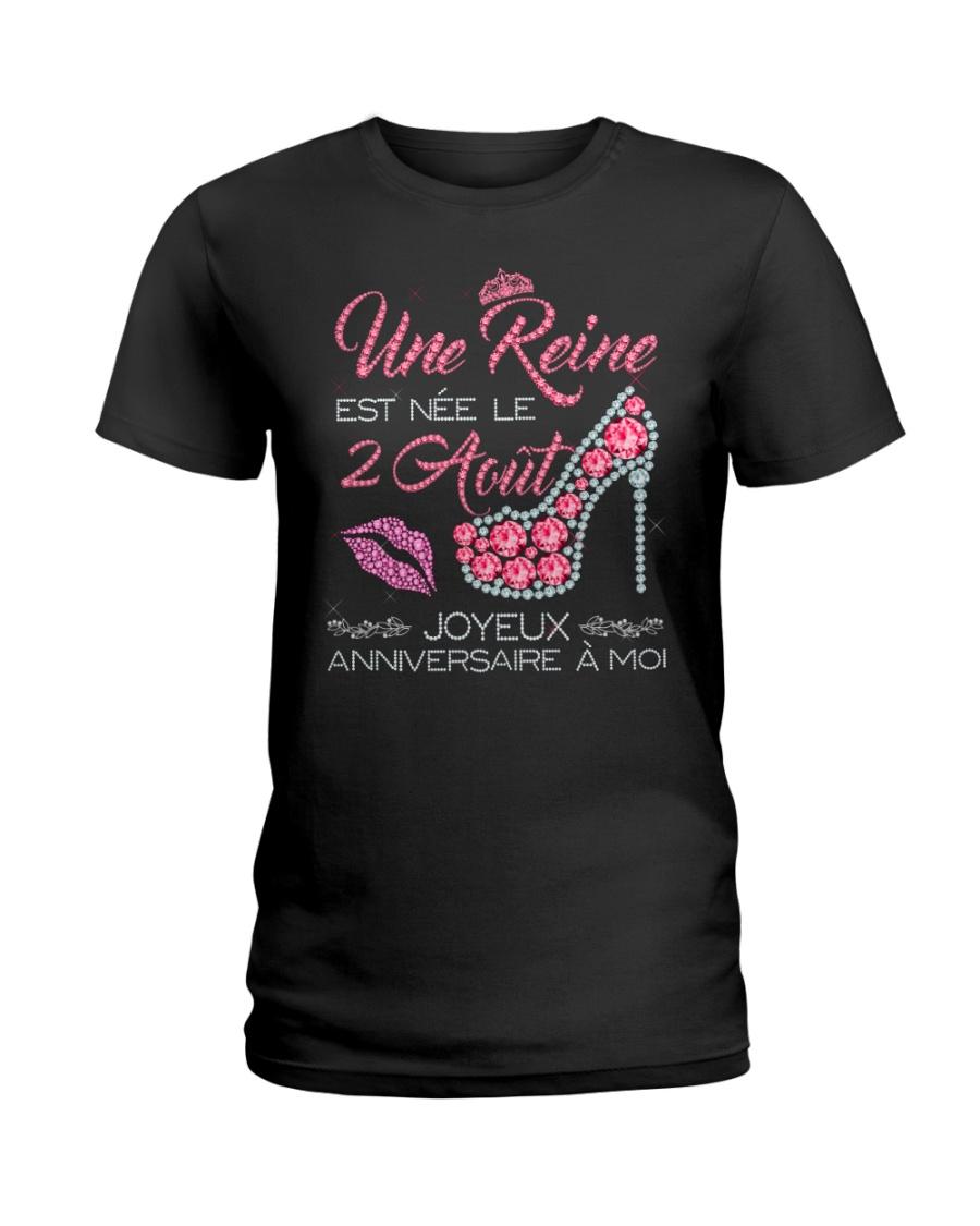 2 Aout Ladies T-Shirt