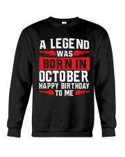H - OCTOBER LEGEND Crewneck Sweatshirt thumbnail