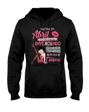 Camisetas Sublimadas nacida en Abril para mujer Hooded Sweatshirt tile