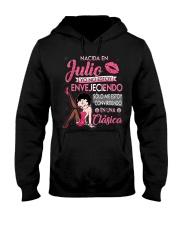 Camisetas sublimadas mujer clásica nacida Julio Hooded Sweatshirt thumbnail