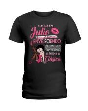 Camisetas sublimadas mujer clásica nacida Julio Ladies T-Shirt thumbnail