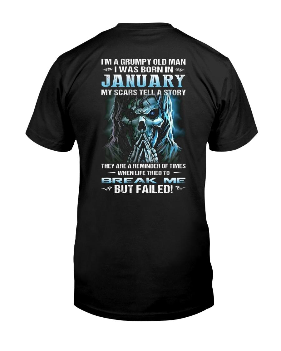 H - JANUARY MAN Classic T-Shirt