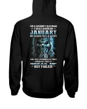 H - JANUARY MAN Hooded Sweatshirt thumbnail