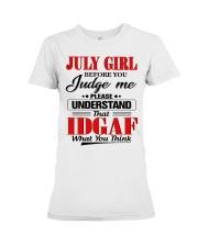 JULY GIRL - L Premium Fit Ladies Tee tile