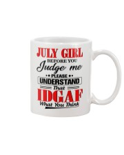 JULY GIRL - L Mug tile