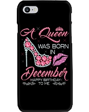 DECEMBER QUEEN Phone Case thumbnail