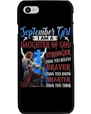SEPTEMBER GIRL Phone Case tile