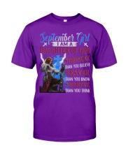 SEPTEMBER GIRL Classic T-Shirt tile