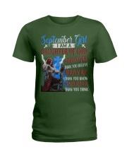 SEPTEMBER GIRL Ladies T-Shirt tile