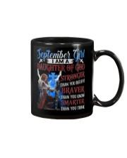 SEPTEMBER GIRL Mug tile
