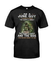 H - JUNE GUY Classic T-Shirt front