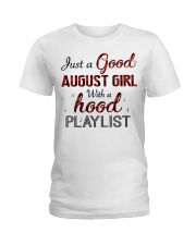 AUGUST GIRL Ladies T-Shirt front