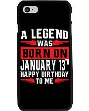 13th January legend Phone Case thumbnail