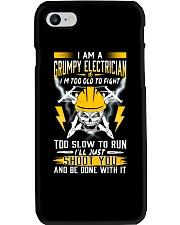 GRUMPY ELECTRICIAN Phone Case thumbnail