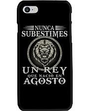 REY DE AGOSTO Phone Case tile