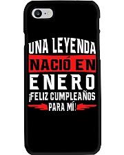 H - NACIO EN ENERO Phone Case tile