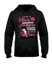 H - REINA DE FEBRERO Hooded Sweatshirt thumbnail