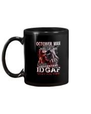 H- OCTOBER MAN Mug tile