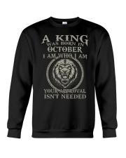 H- OCTOBER KING  Crewneck Sweatshirt tile
