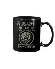 H- OCTOBER KING  Mug tile