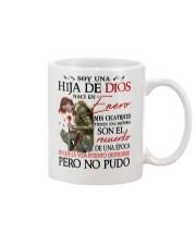 CHICA DE ENERO Mug tile