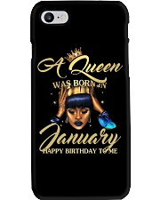 H - JANUARY QUEEN Phone Case tile