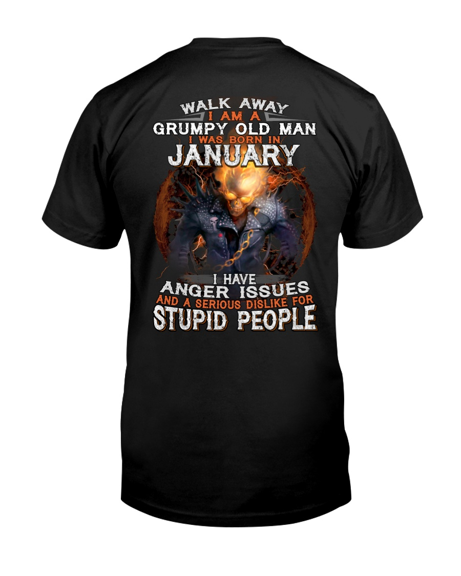 H - JANUARY MAN Classic T-Shirt