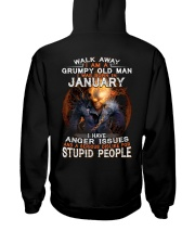 H - JANUARY MAN Hooded Sweatshirt thumbnail