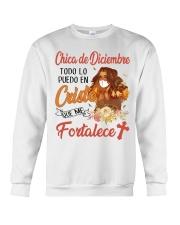 H - CHICA DE DICIEMBRE Crewneck Sweatshirt thumbnail