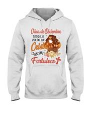 H - CHICA DE DICIEMBRE Hooded Sweatshirt thumbnail
