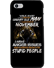 NOVEMBER MAN Phone Case i-phone-7-case