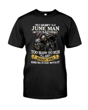 Grumpy Man T6 Classic T-Shirt front