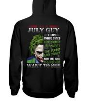 JULY GUY Hooded Sweatshirt back